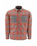 Simms Confluence Reversible Jacket/Shirt - Lead